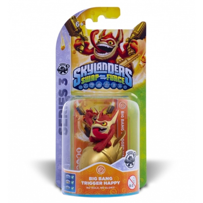 Skylanders SWAP Force Trigger Happy