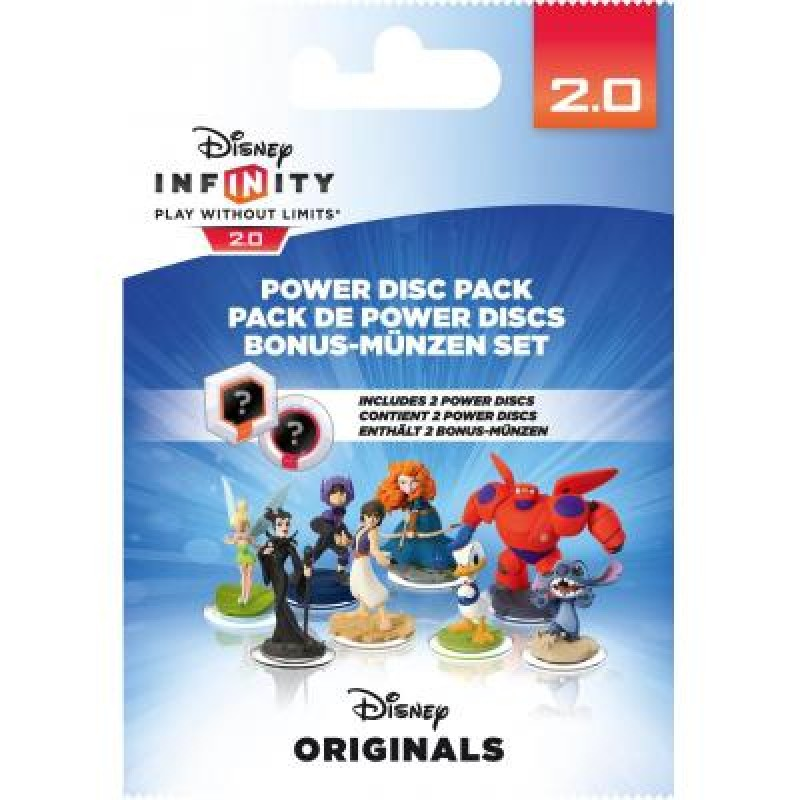 Infinity 2.0 Power Discs Pack Disney Originals