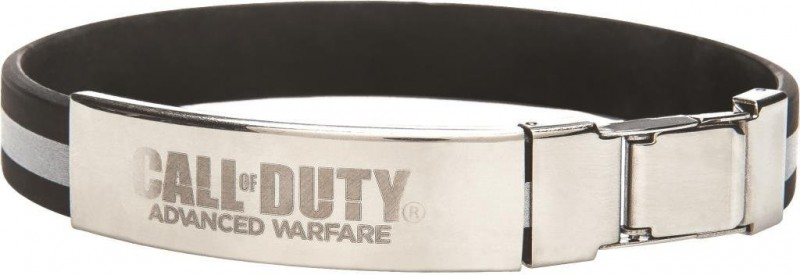 Narukvica Call of Duty AW Rubber Bracelet Metal Buckle