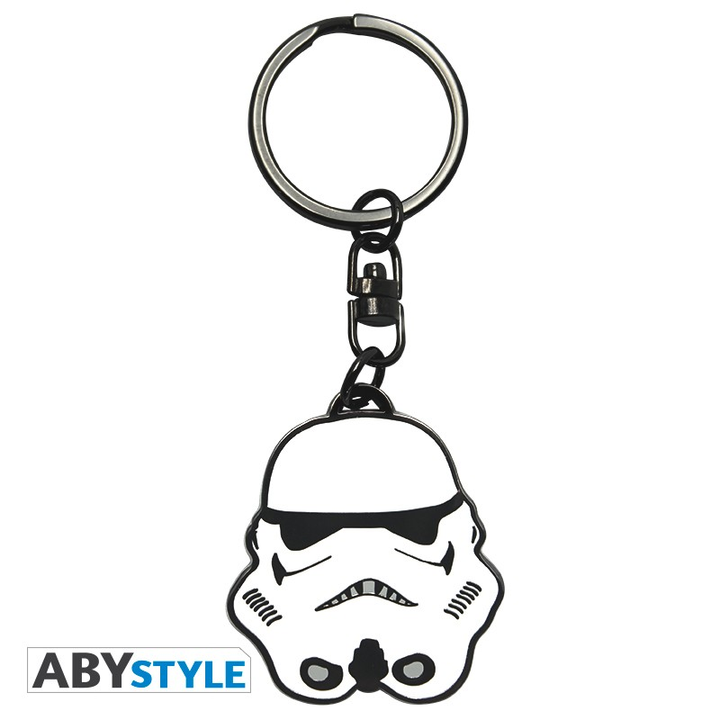 STAR WARS - Metal Keychain 'Trooper'