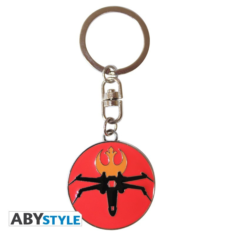STAR WARS - Metal Keychain 'X-Wing'