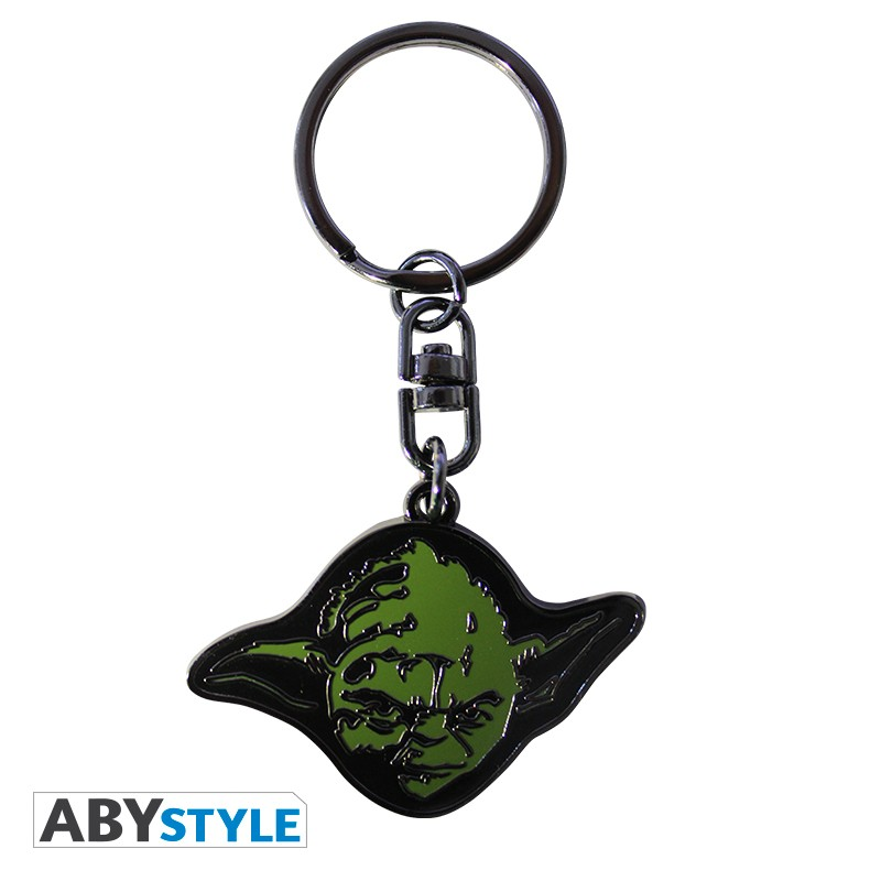 STAR WARS - Metal Keychain 'Yoda'