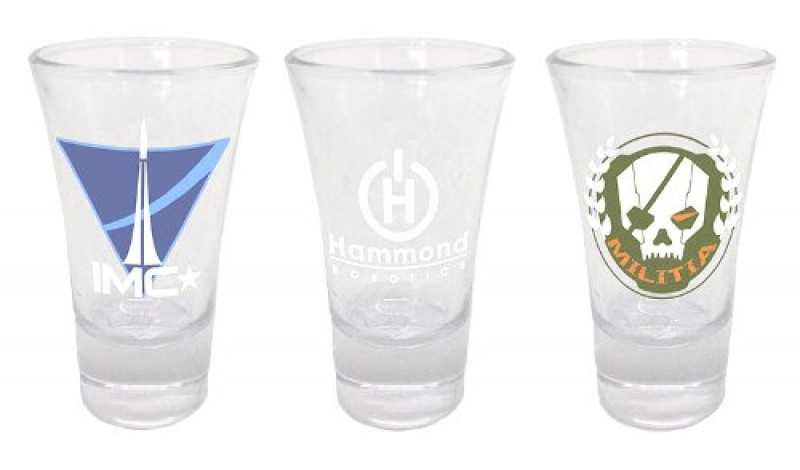 Case Titanfall Shotglasses Set of 3