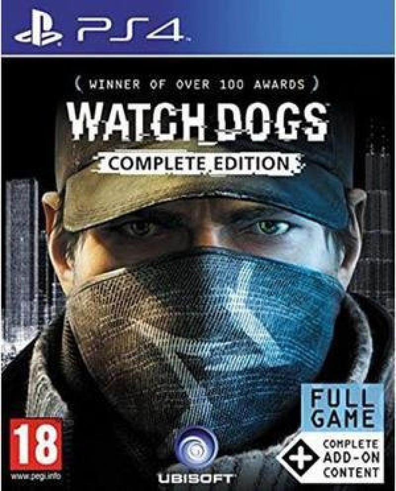 PS4 Watch Dogs Complete