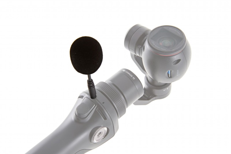 Osmo - Part 44 DJI FM-15 Flexi Microphone - solo