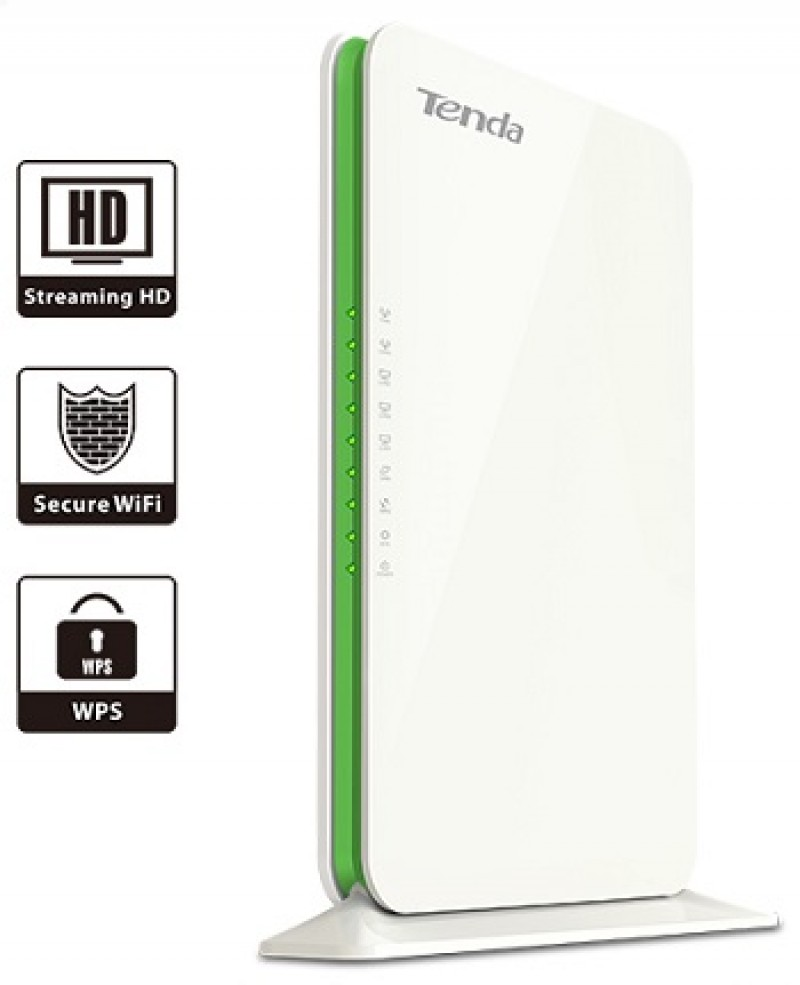 WIRELESS ROUTER TENDA F1200 2.4/5Hz 4 ant