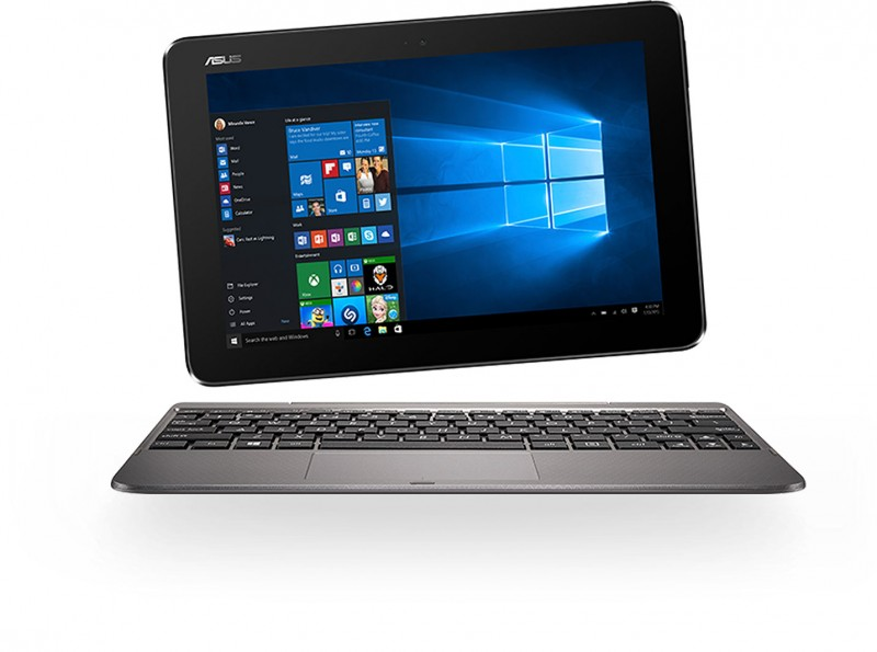 Asus Transformer Book T101HA-GR004T Intel Atom x5-Z8350 10.1 2GB 64GB IntelHD NoODD Win10 Grey (90NB0BK1-M00500)
