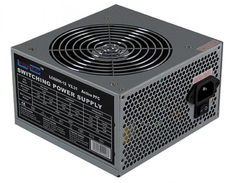 LC Power Napajanje 600W LC600H-12 V2.31 12cm Fan