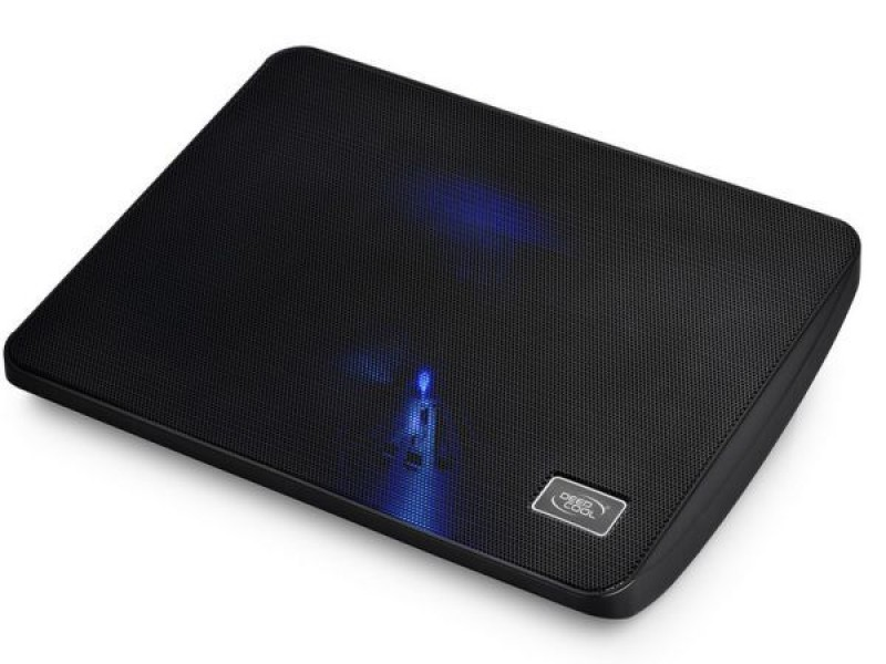 DeepCool WINDPALMINI Hladnjak za laptop 15,6 140mm.BLUE LED FAN 1000rpm 46CFM 21dB (postolje)
