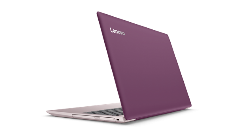Lenovo IdeaPad 320-15IAP Intel N3350 15.6AG 4GB 500GB IntelHD 500 BT4.1 DOS Plum Purple (80XR00BCYA)