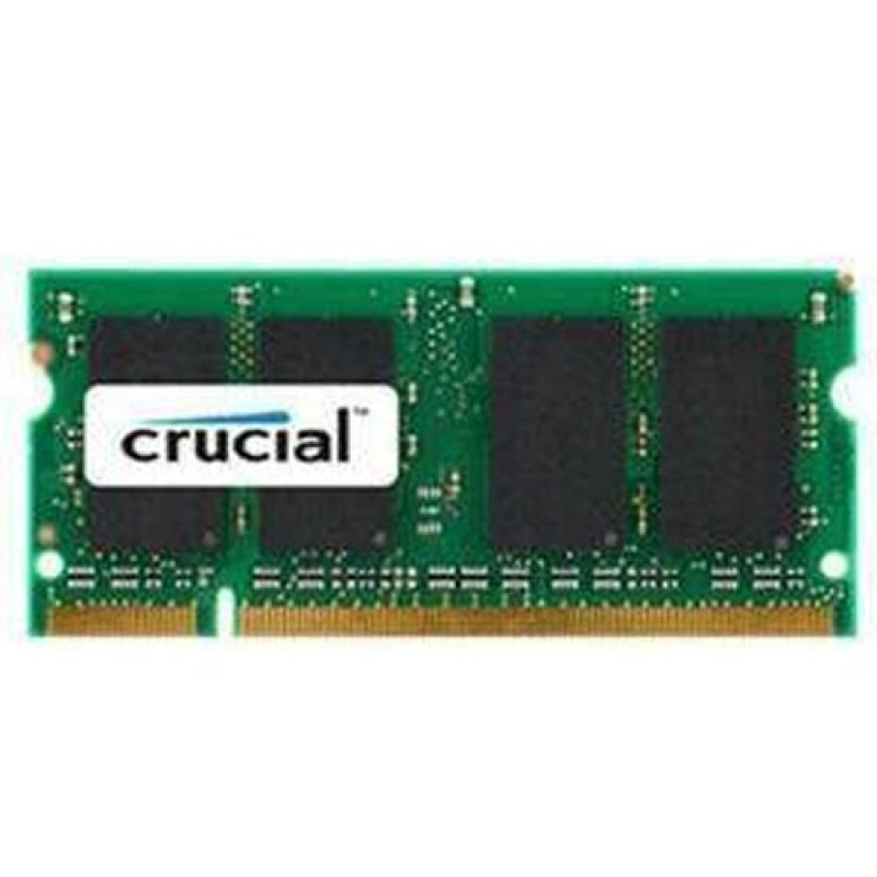 Crucial RAM 4GB DDR3L 1600 MT s (PC3-12800) CL11 SODIMM 204pin 1.35V 1.5V Single Ranked ( CT51264BF160BJ )