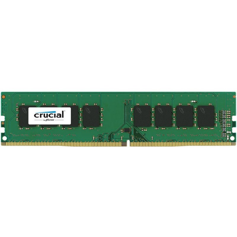Crucial DRAM 8GB DDR4 2400 MTs (PC4-19200) CL17 SR x8 Unbuffered DIMM 288pin Single Ranked, EAN: 649528776389