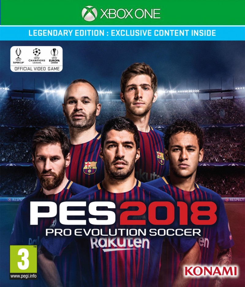 Konami XBOXONE Pro Evolution Soccer 2018 Legendary Edition