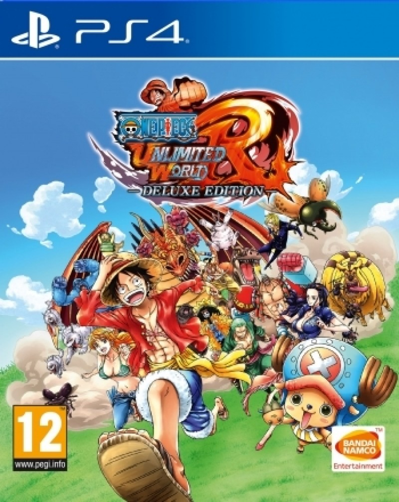 PS4 One Piece Unlimited World Red Deluxe edition