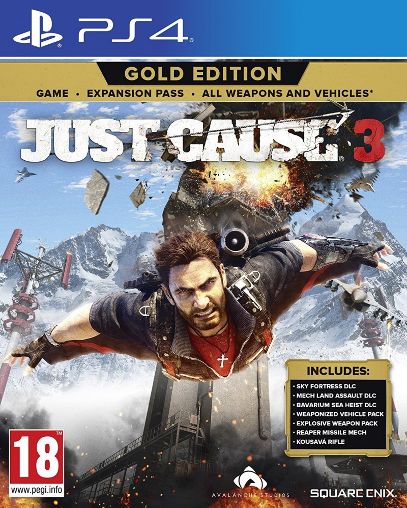 Square Enix PS4 Just Cause 3 Gold Edition