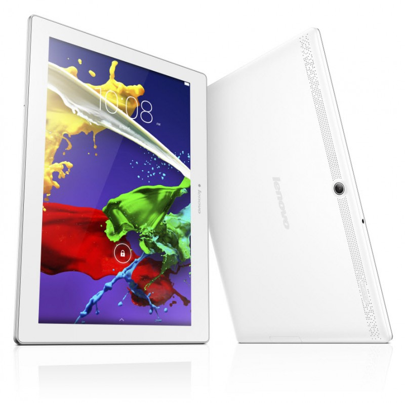 Lenovo ZA0D0087BG IdeaTab 2 A10-30 Tablet, (White,4G) Qualcomm MSM8909 1.3GHz QuadCore, 2GB,16GB, 10 1280x800 IPS, 10-p Multitouch, mSD, G