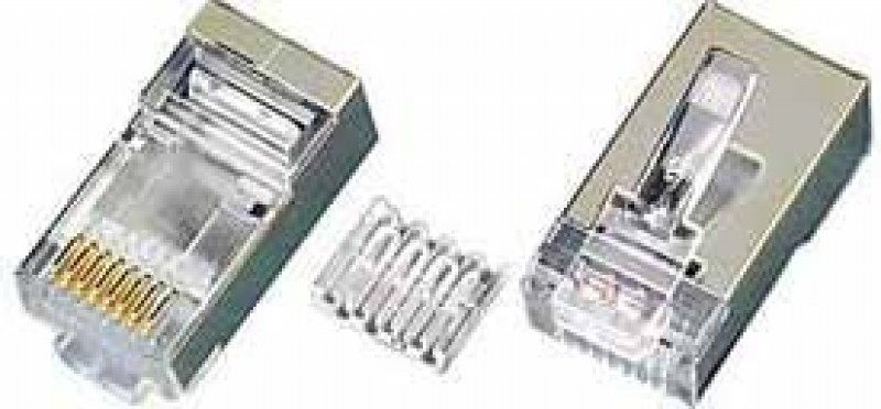 KONEKTOR RJ45 CAT6 SHIELDED