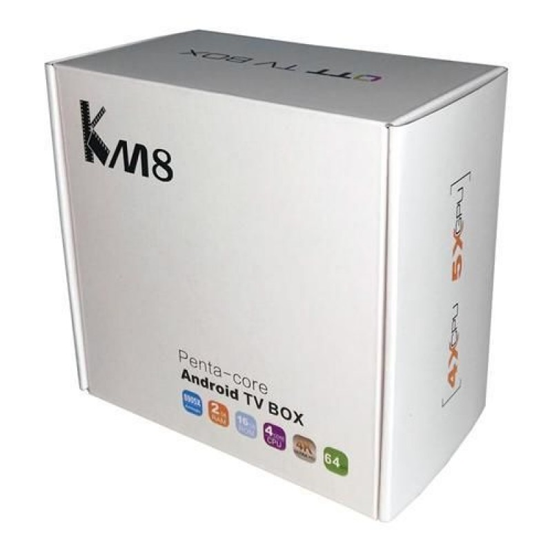 GMB-K8 Gembird smart TV box S905X quad,2GB RAM/16GB ROM, GPU Mali450 4K 64bit, KODI Android 6.0
