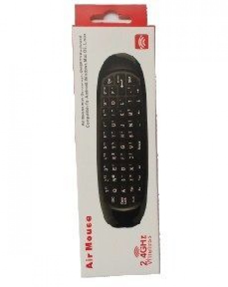 GMB-FLY MOUSE 2.4G wireless fly air mouse, bezicni daljinski sa tastaturom
