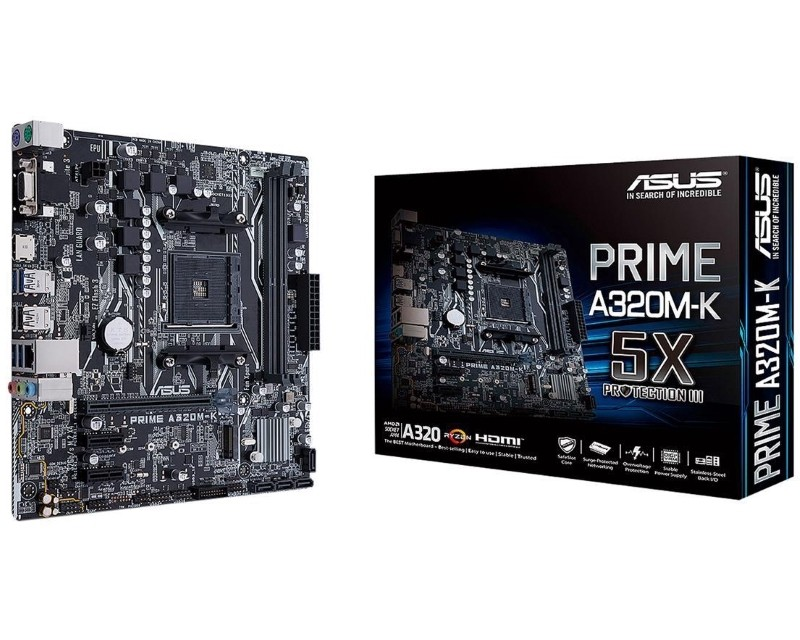 Asus AMD MB PRIME A320M-K AM4