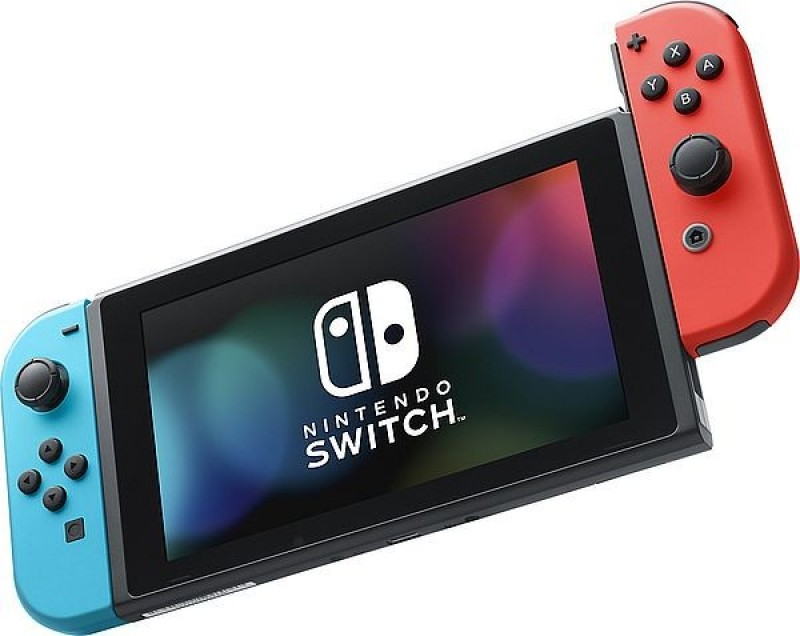 Nintendo Switch Console (Red and Blue Joy-Con)