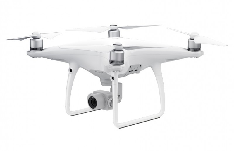 Phantom 4 Advanced (with two extra batteries)