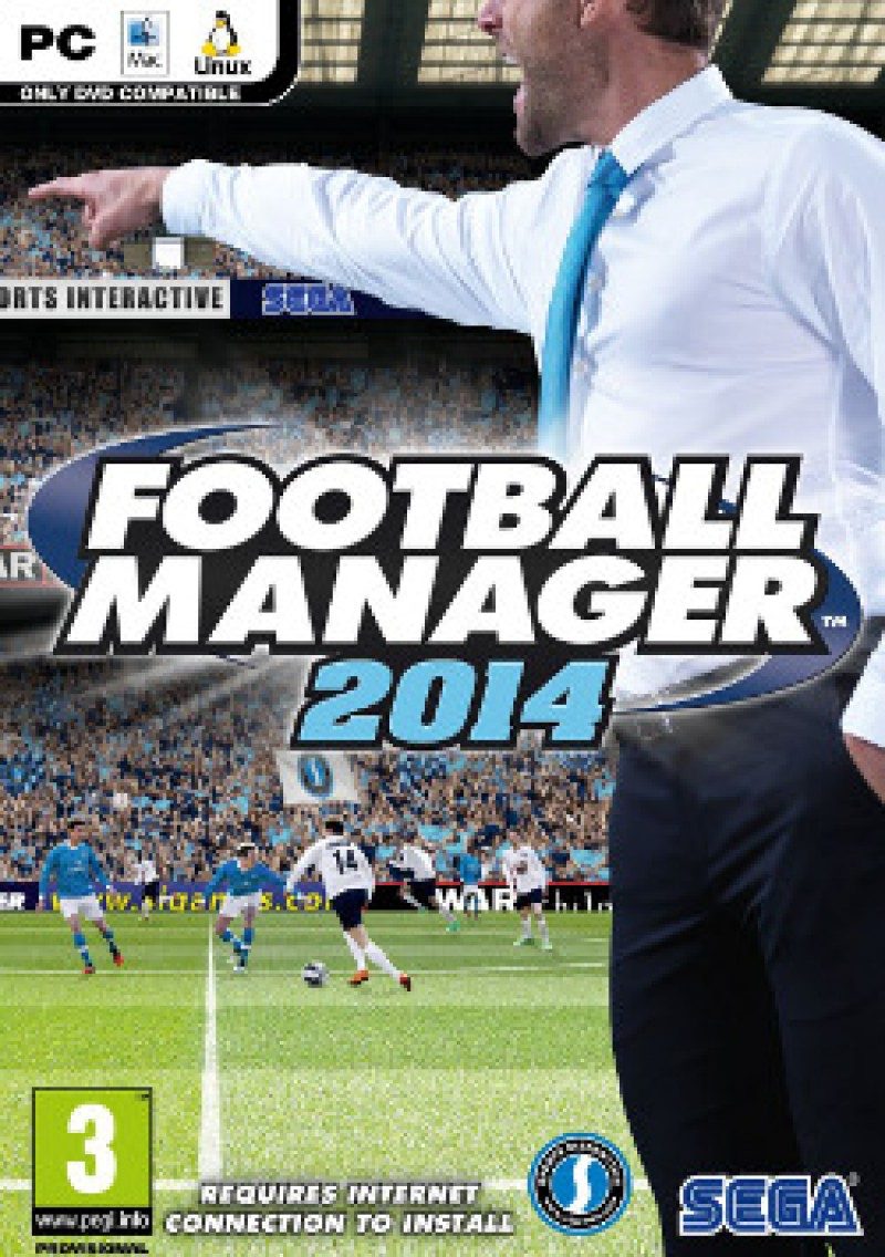 Sega PC Football Manager 2014