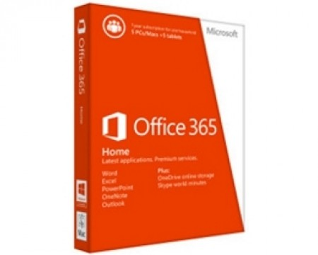 MICROSOFT Office 365 Home 32bit64bit, CentralEastern European only, medialess, P2 (6GQ-00660)