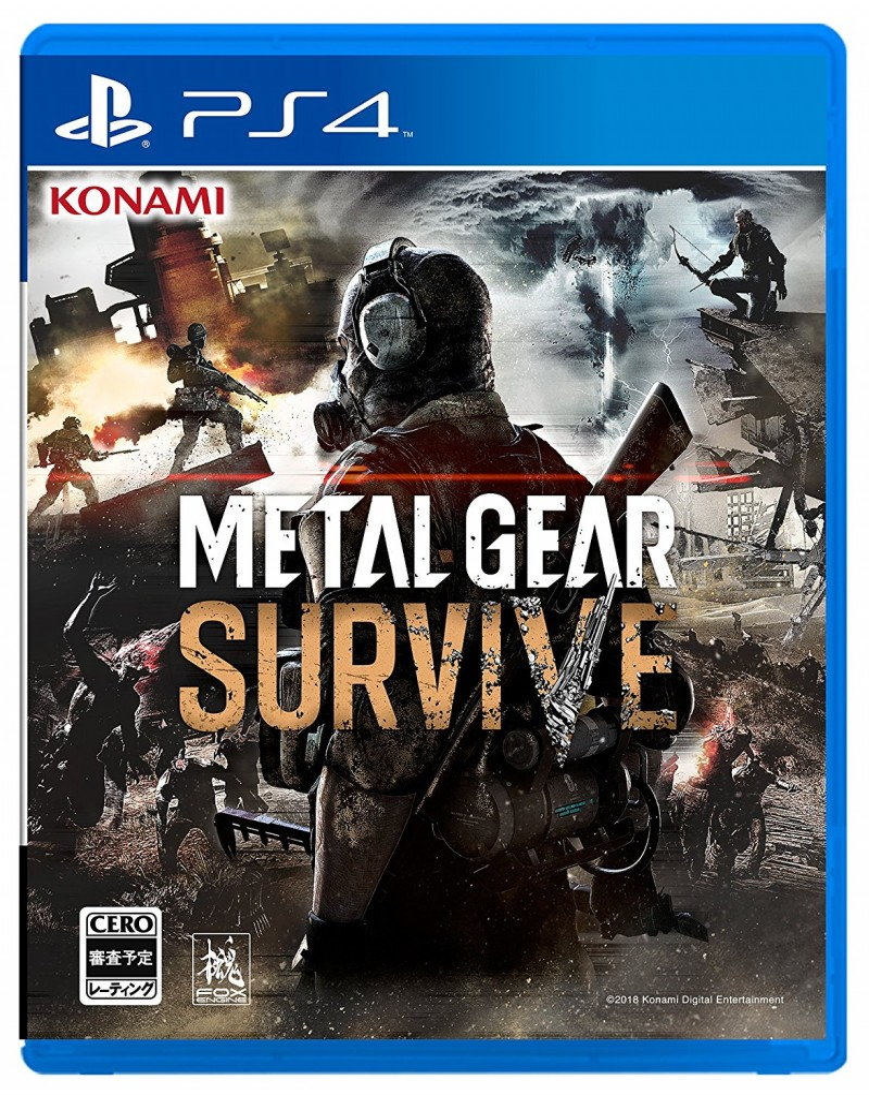 Konami PS4 Metal Gear: Survive