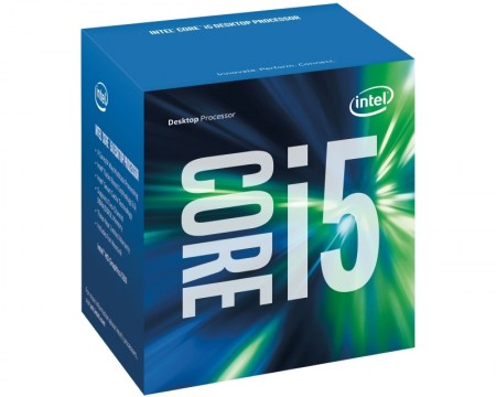 CPU Core i5, i5-7500, 3,40GHz, 6MB, LGA1151, Kaby Lake, HD graphics 630, 14nm