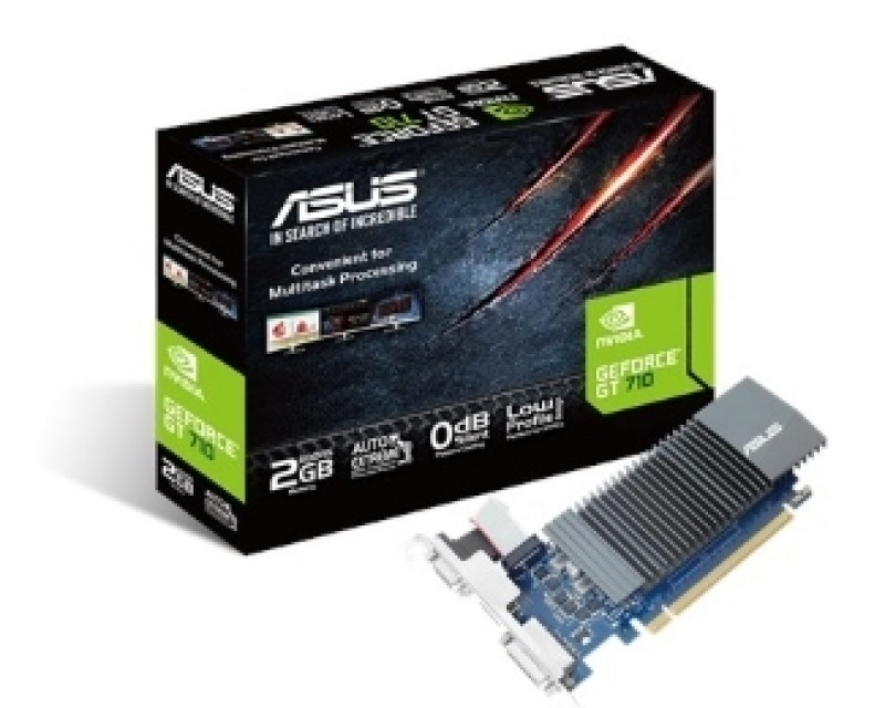 ASUS nVidia GeForce GT 710 2GB 64bit GT710-SL-2GD5-BRK