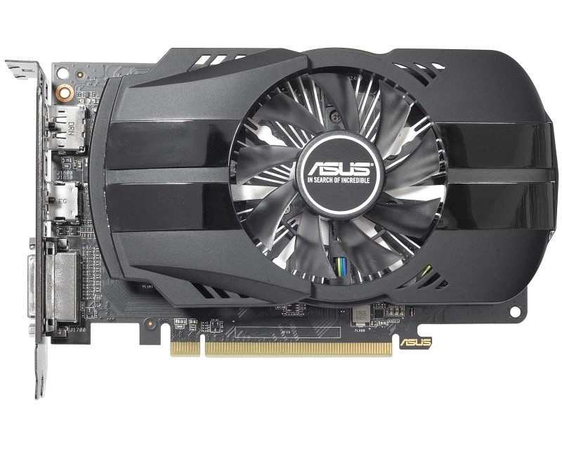 ASUS AMD Radeon RX 550 4GB 128bit PH-RX550-4G-M7