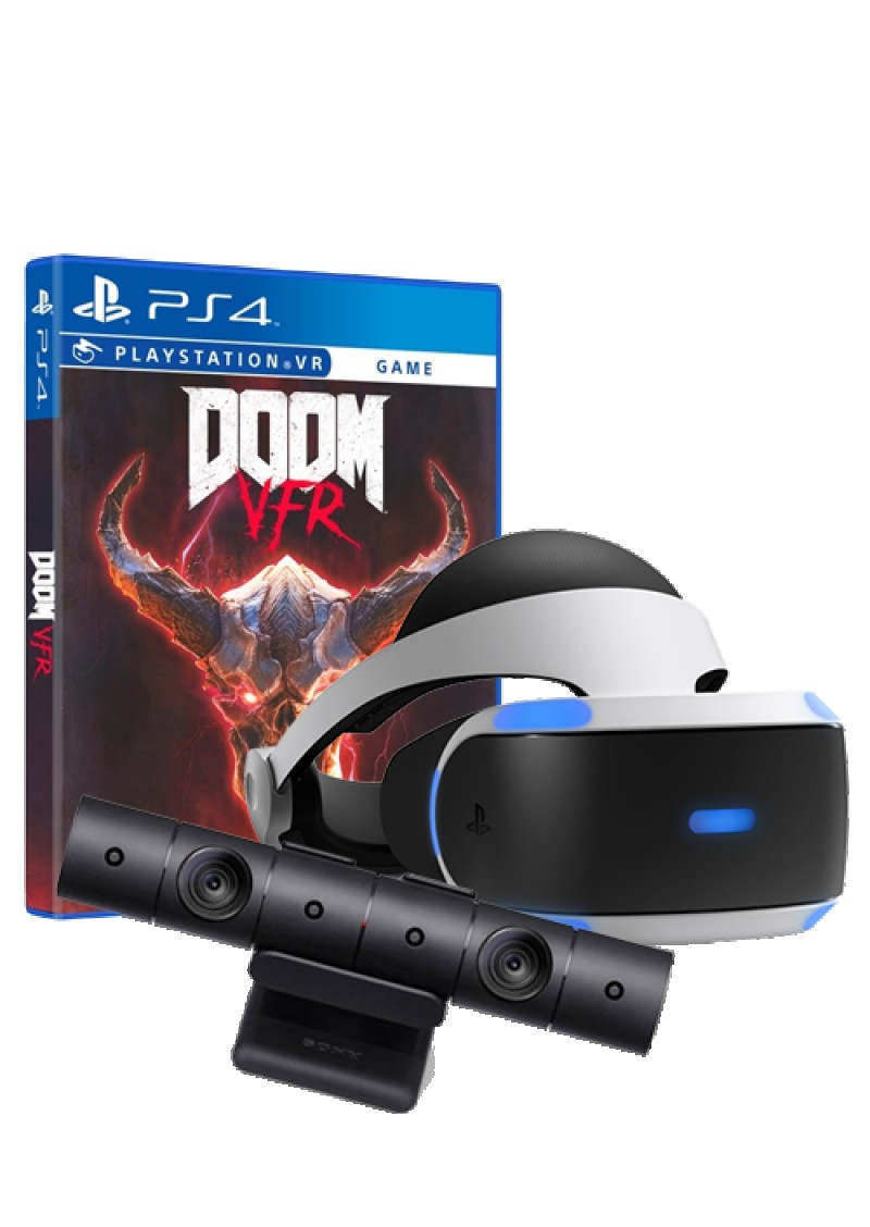 PS4 Virtual Reality + Camera V2 + Doom VFR