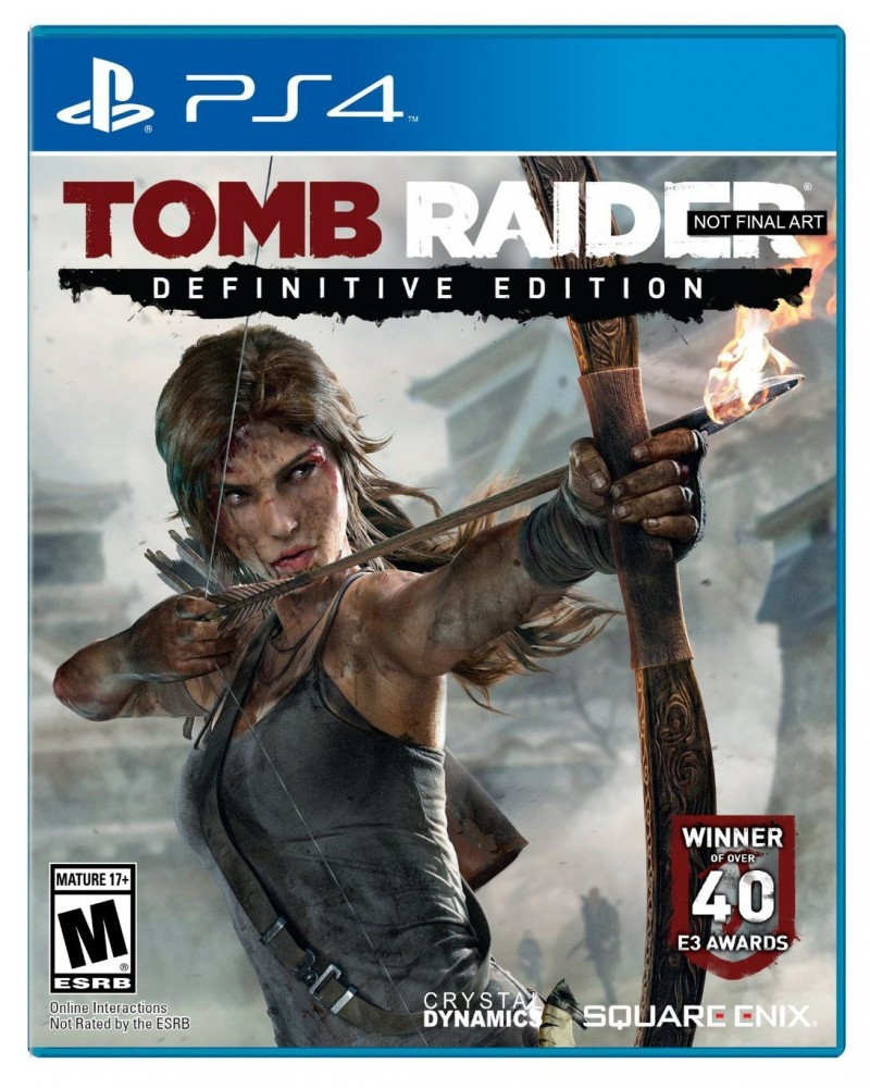 Square Enix PS4 Tomb Raider Definitive Edition
