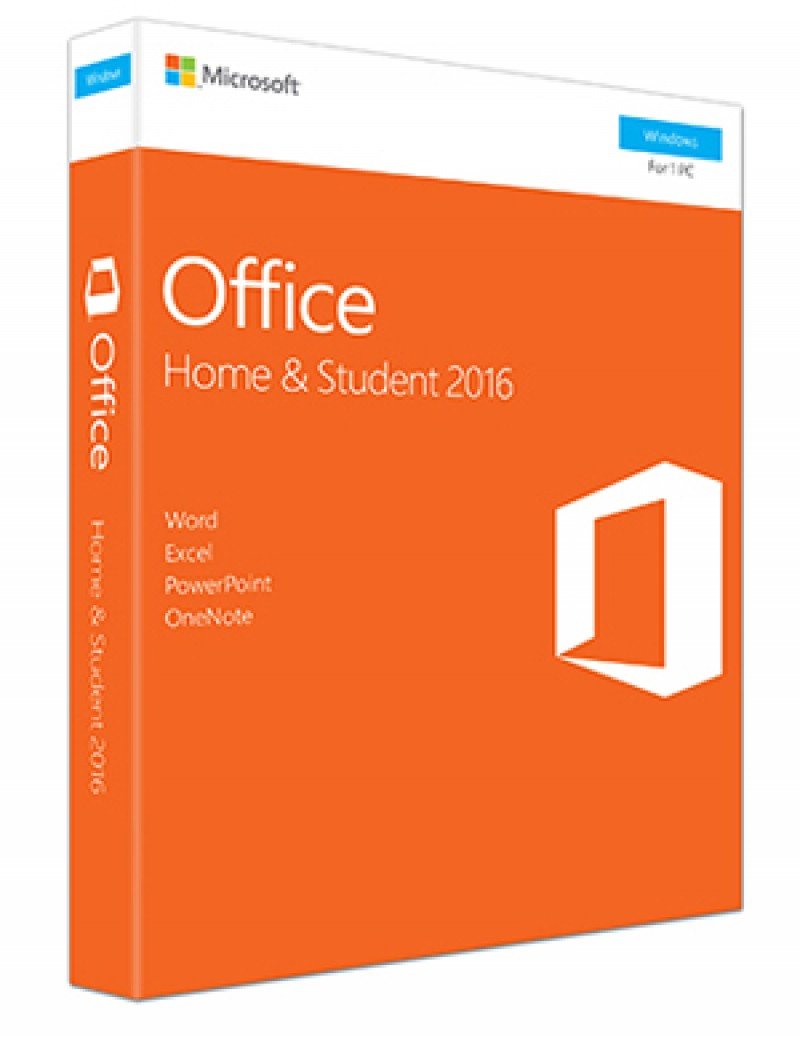 Office Home and Student 2016 Win English CEE Only Medialess P2