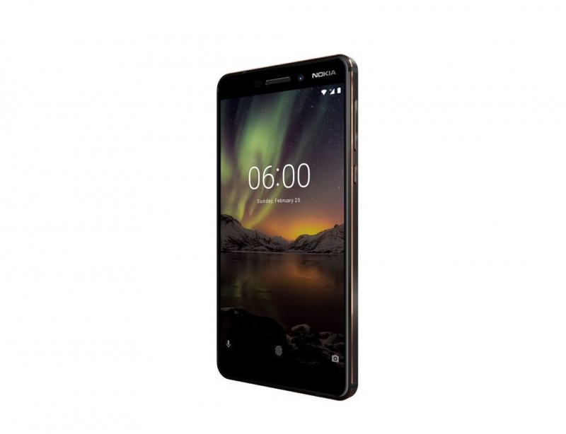 Nokia 6.1 DS Black Copper Dual Sim