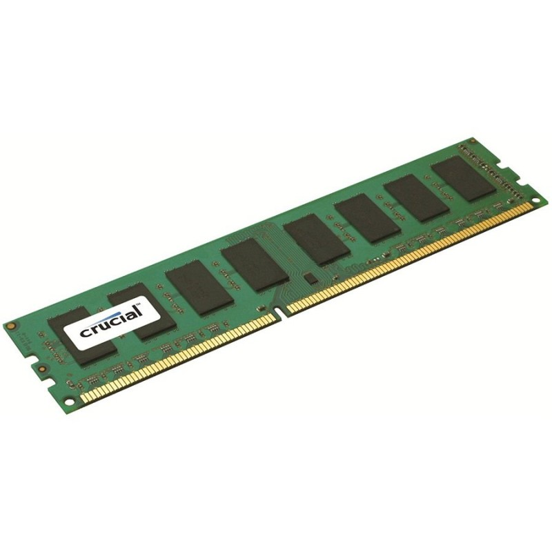 Crucial RAM 4GB DDR3L 1600 MT s (PC3L-12800) CL11 Unbuffered UDIMM 240pin 1.35V 1.5V Single Ranked ( CT51264BD160BJ )