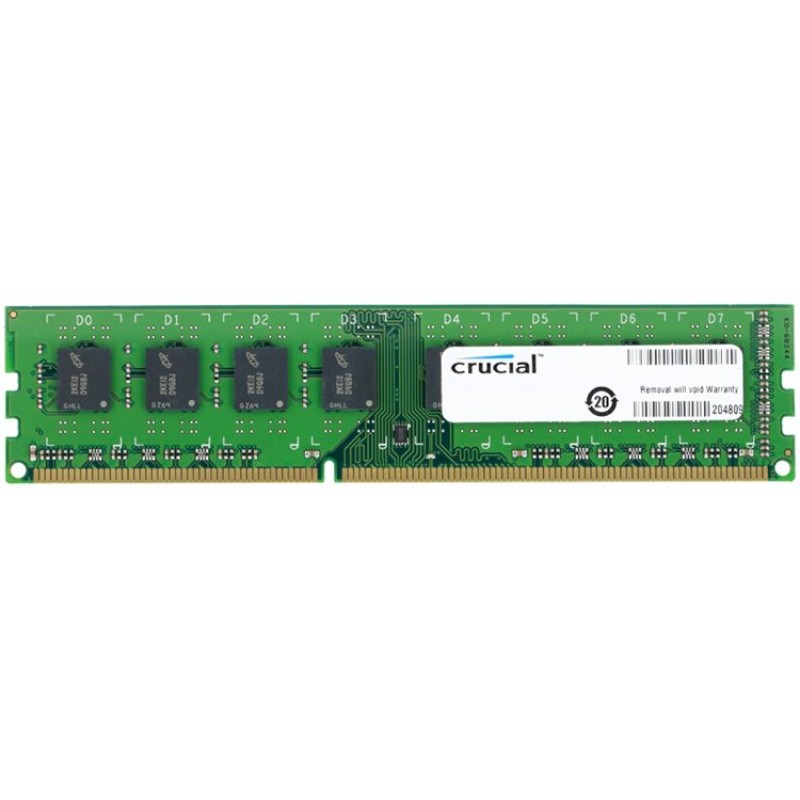Crucial RAM 8GB DDR3L 1600 MTs (PC3L-12800) CL11 Unbuffered UDIMM 240pin 1.35V1.5V