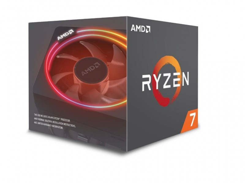 AMD Ryzen 7 8C16T 2700X (4.35GHz 20MB 105W AM4)