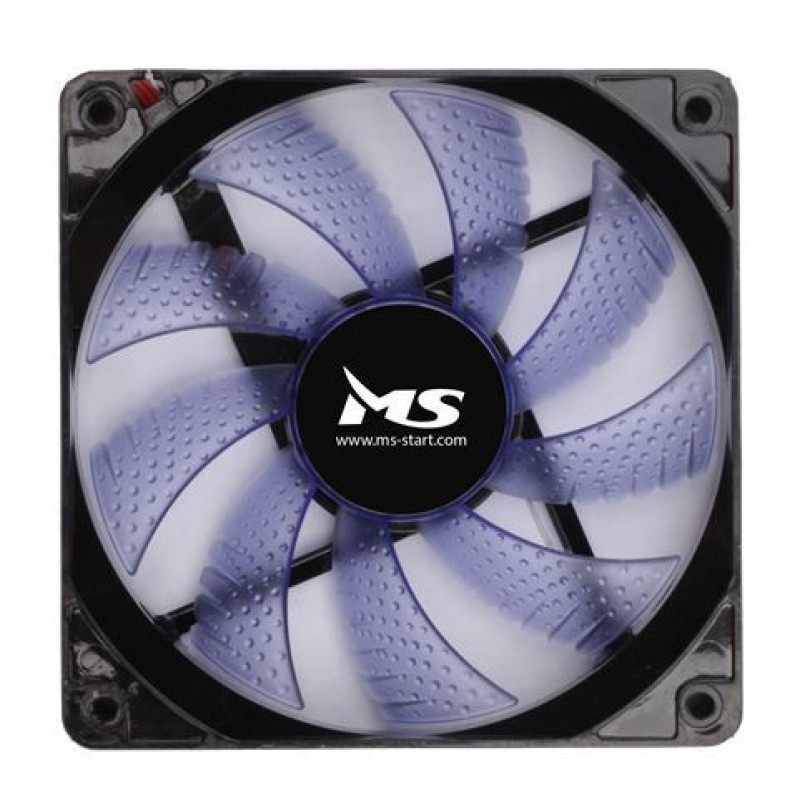 COOLER CASE MS BLUE LED 12CM FAN
