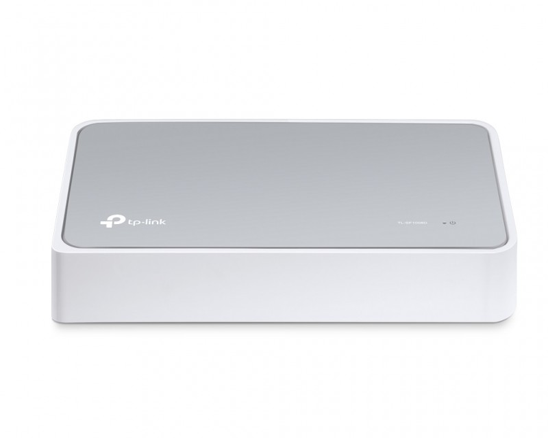 TP-LINK Switch 8x RJ45 10/100Mbps plasticno kuciste (TL-SF1008D)