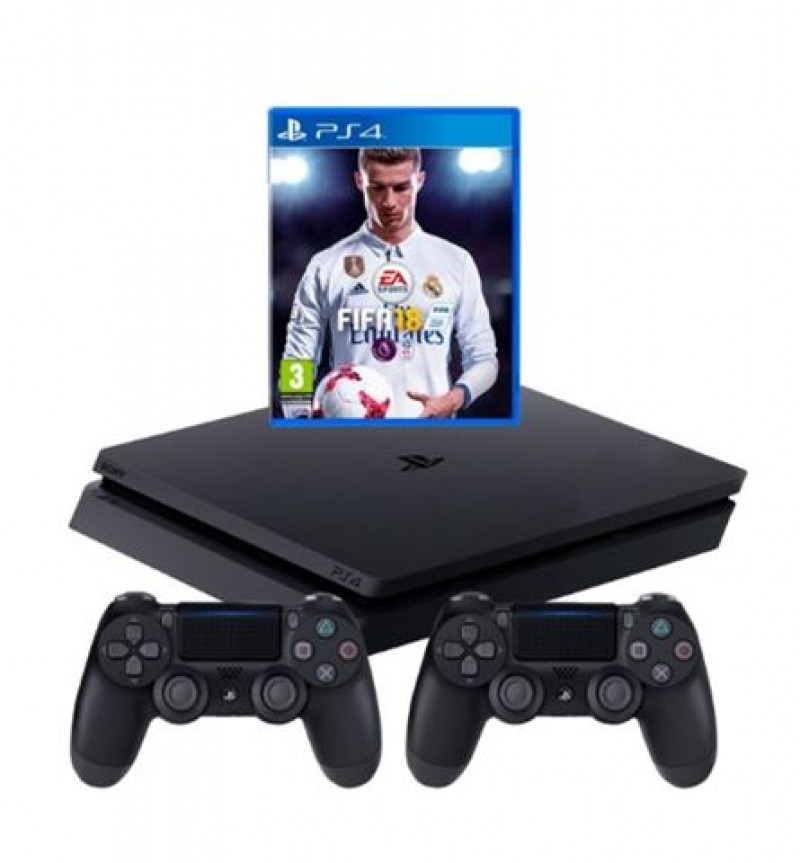 Sony PlayStation 4 500GB + PS4 Dualshock crni+ FIFA