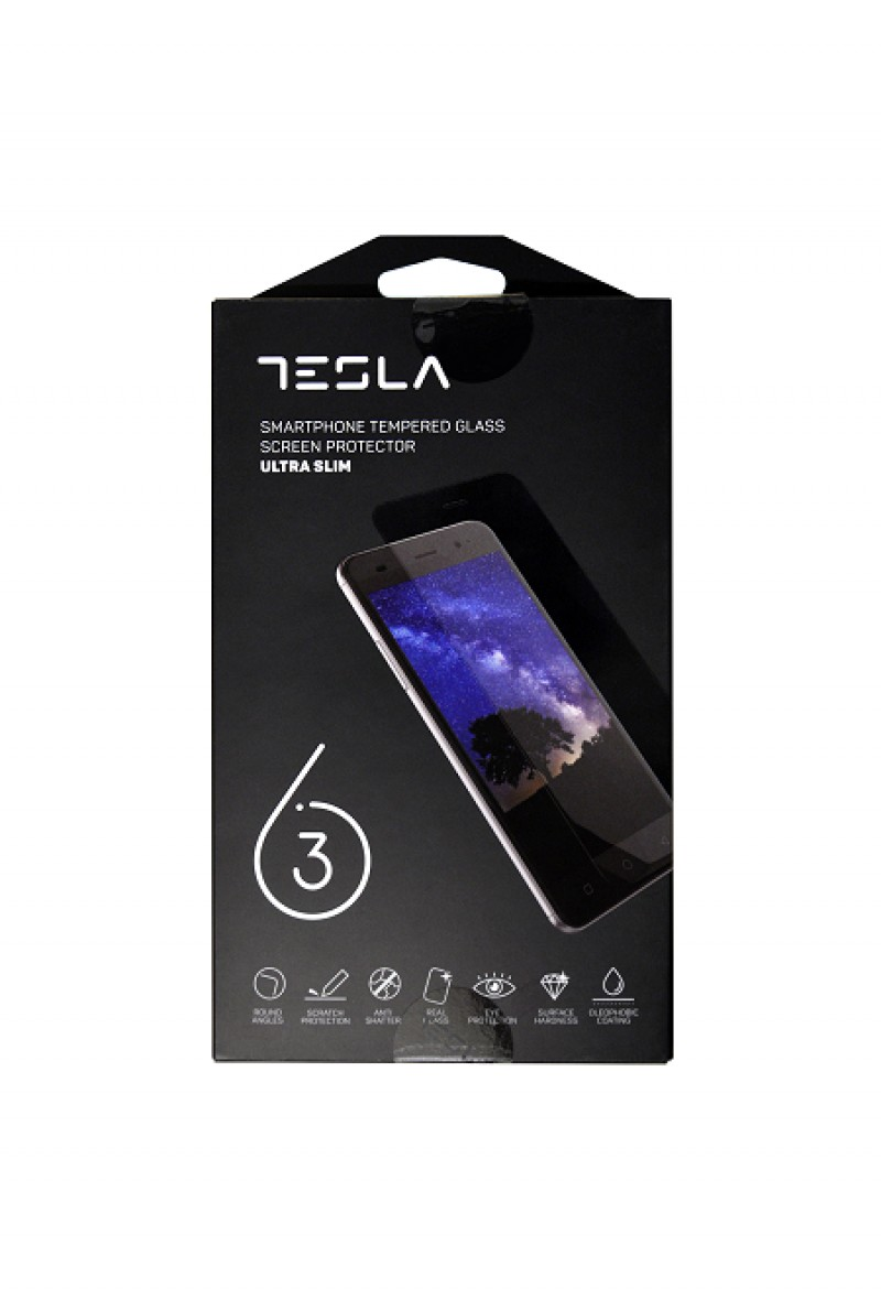 Tesla tempered glass for 6.3