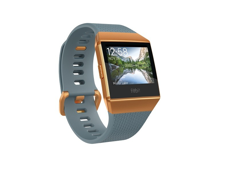 Fitbit Ionic Slate Blue Burnt Orange