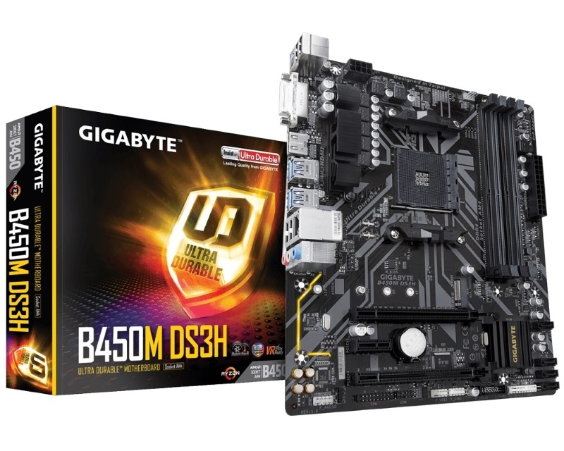 GIGABYTE B450M DS3H rev.1.0