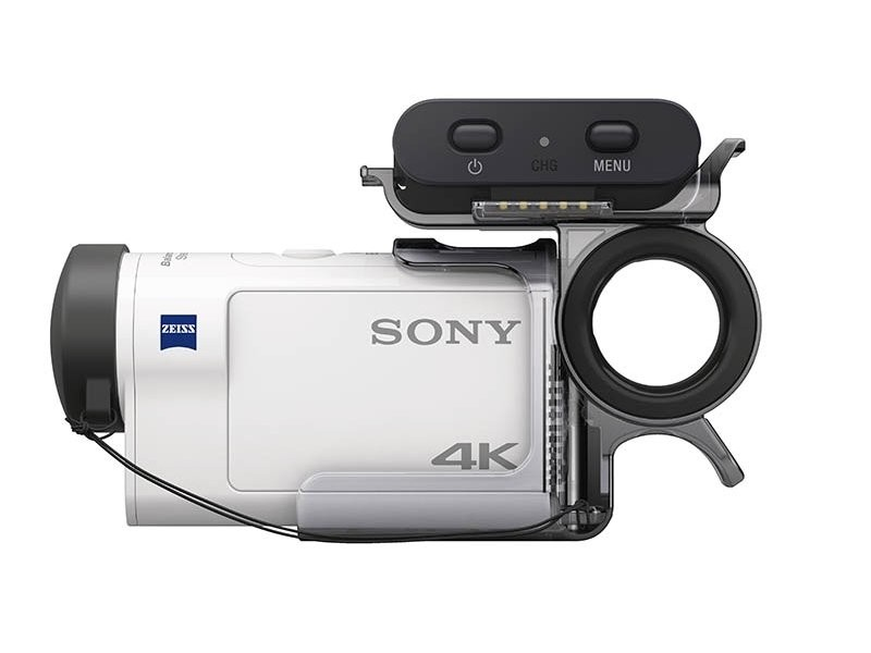 Sony FDR-X3000R (4K Action Cam + remote + AKA-FGP1)