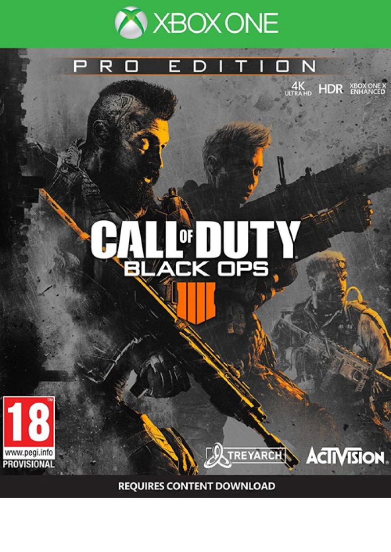 Activision Blizzard XBOXONE Call of Duty: Black Ops 4 Pro Edition