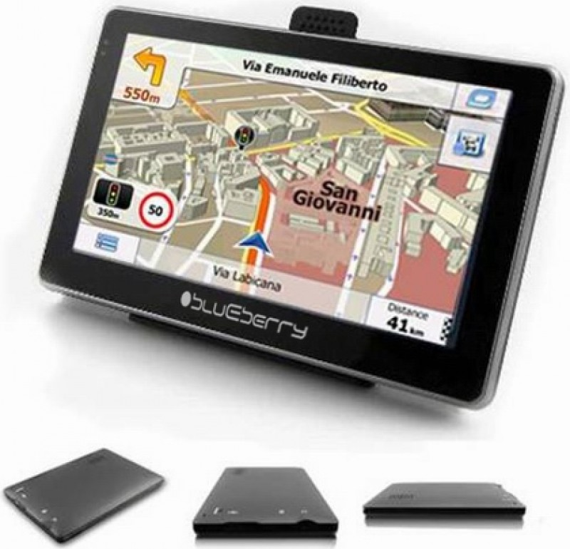 GPS BLUEBERRY 2GO547 8GB FM