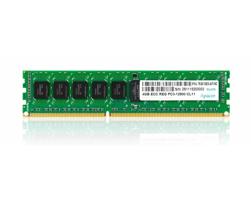 APACER DIMM DDR3 4GB 1600MHz Retail DL.04G2K.KAM