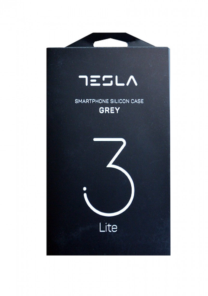 Tesla grey silicon cover for 3.1 Lite and 3.2 Lite